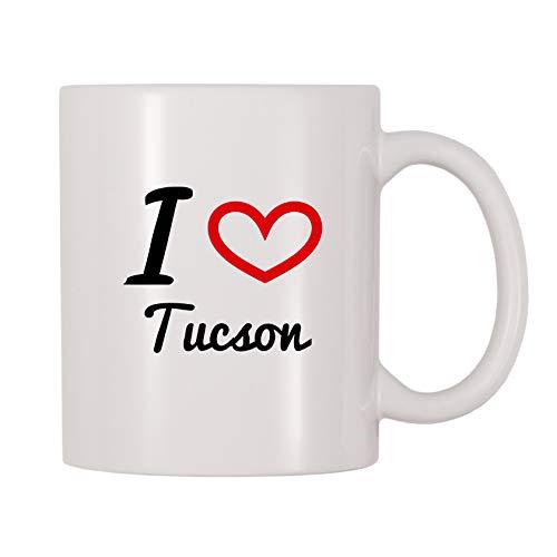 Mug Coffee Tucson - 4 All Times I Love Tucson Coffee Mug (11 oz)