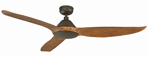 Royal Pacific Lighting 1072OB Modern Scrapper 3 Blade Modern Ceiling Fan with Abs Blades & Remote Control, 60