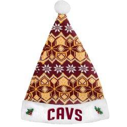 Cavaliers Santa - Cleveland Cavaliers Knit Santa Hat - 2015