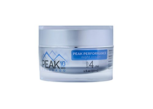 PEAK 10 SKIN - Peak Performance night cream 1oz