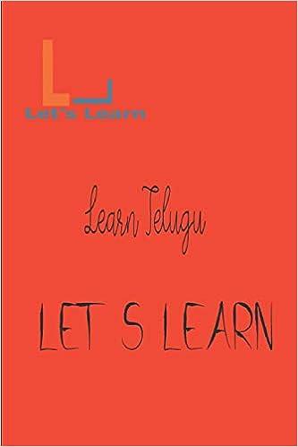 Let's Learn - Learn Telugu: Let's Learn: 9781519094995