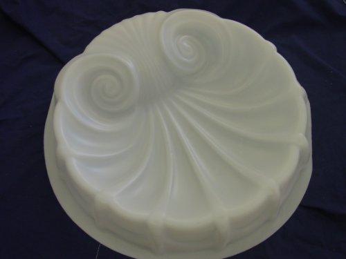 Seashell Birdbath Top Concrete Mold 8503 by Mold Creations