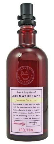Bath & Body Works Aromatherapy Jasmine Vanilla Smoothing Oil 4oz