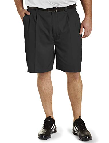 Reebok Big and Tall Golf Play Dry Continuous Comfort Pleated Shorts