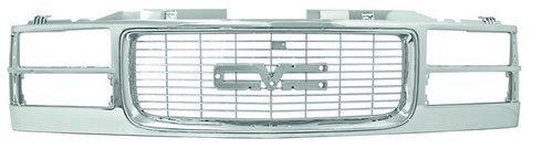 IPCW CWG-GR0307M0C GMC Truck Chrome Composite Grille ()