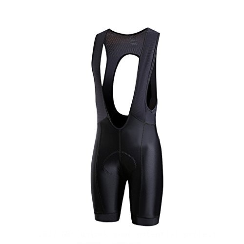 Pro Race Bib (SPEXCEL Pro Team Cycling Bib Shorts Race Fit Lightweight Cycling Bottom With Italy Fabric Grippers at leg High Density Pad for Long Time Ride Black (XL))