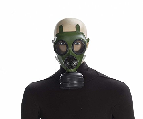 Gas Mask Green/Black]()