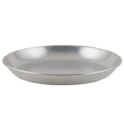 - Winco ASFT-16, 160-Ounce Brushed Aluminum Round Serving Seafood Platter Tray