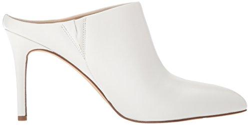 Sam Edelman Damen Oran Pantoletten, Weiß (Bright White Leather), 39 EU