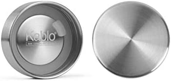 Kablo 32 oz Glass Water Bottle, 100% Borosilicate Glass, BPA Free, Leak-Proof Stainless Steel Lid, Wide Mouth, Eco-Friendly (2nd Generation)