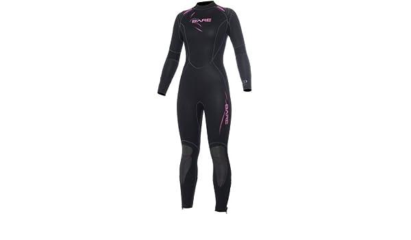 Bare Sport 7 mm traje de buceo para mujer agua fría traje de buceo ...