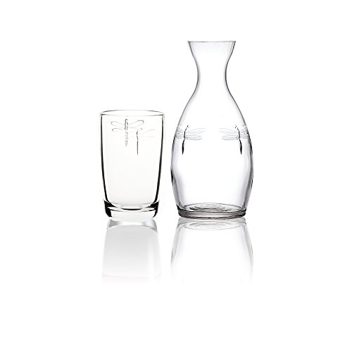 La Rochere GRP275 Dragonfly Carafe/Old Fashioned Glasses Clear
