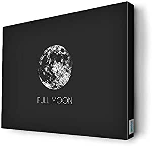 Full moon Wall Canvas by Decalac,40X 30cm - 19050