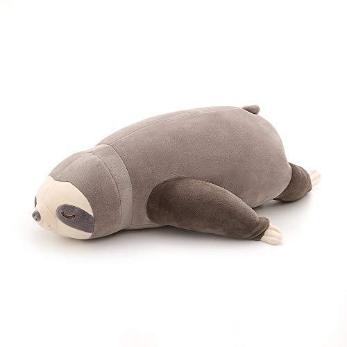 Niuniu Daddy 20 Inch Soft Stuffed Sloth Plush Animal Pillow Toy Gifts, Stuffed Cute Sloth Pet Toy Hugging Pillow.