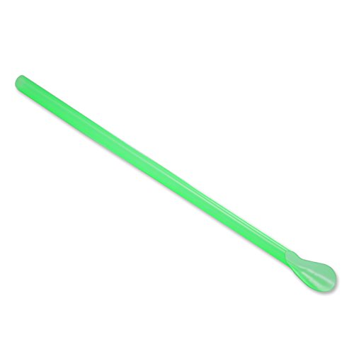 Color Changing Spoon Straws Bag of 200 Changes from Yellow to Green ()