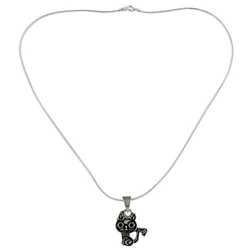 - NOVICA .925 Sterling Silver Pendant Necklace, 18