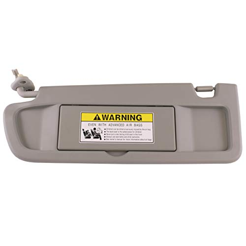 IAMAUTO 52813 Driver Left Clear Gray Light Gray Sun Visor for 2006 2007 2008 Honda Civic ()