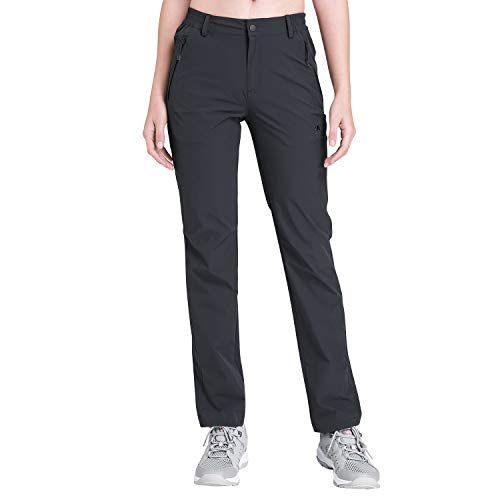 - CAMEL CROWN Women's Quick Drying Hiking Cargo Pants Lightweight Stretchy UV Protection Trousers for Outdoor Travel Climbing Dark Grey L