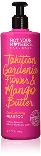 Not Your Mother's Naturals Tahitian Gardenia Flower & Mango Butter Curl Defining Shampoo 16 Fl oz