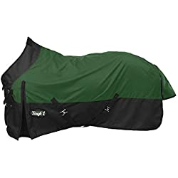 Tough 1 Premium 1200 Denier Waterproof Light/Medium Weight Nylon Turnout Blanket - 200g Fill
