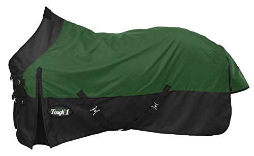 Tough 1 Premium 1200 Denier Waterproof Light/Medium Weight Nylon Turnout Blanket - 200g Fill (Turnout Medium Weight)