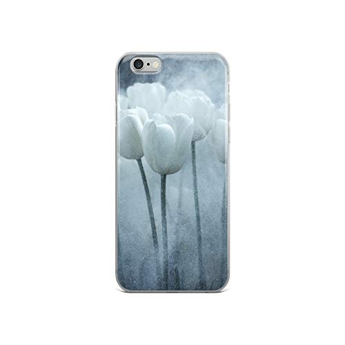 iPhone 6/6s Case Anti-Scratch Television Show Transparent Cases Cover White Tulips Tv Shows Series Crystal Clear