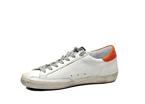 Golden Goose Superstar Stella Rossa Bianco