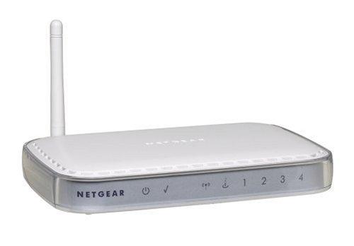 - NETGEAR WGT624 108 Mbps Wireless Firewall Router - Wireless router - 4-port switch - 802.11 Super G, 802.11b/g - desktop