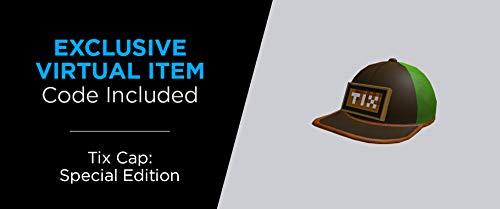 Roblox Avatar Shop Series Collection - Tix, Flex, and Epic Pecs Figure Pack [Includes Exclusive Virtual Item]