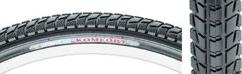 Kenda K841A Komfort 26x1.95 Steel Bead Black Tire (Best Mountain Bike Tires For Road And Trail)