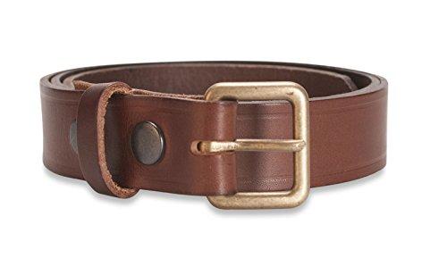 Hawkdale Mens Premium Real Leather Belt - 1.25