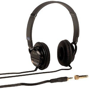 Sony Mdr7502 Professional Studio Headphones, Black 0