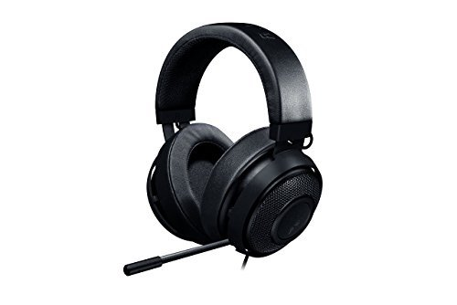 Razer Kraken Pro V2 - Oval Ear Cushions - Analog Gaming Headset for PC, Xbox One and Playstation 4, Black (Renewed)