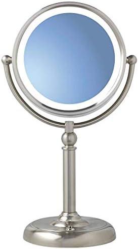 Sunter Natural Daylight True Color Vanity Makeup Mirror Dual Lighted 1X 10X Glare Fog Free