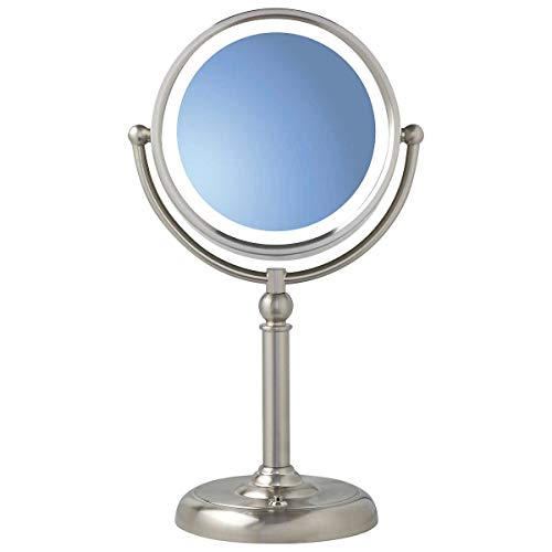 Sunter Natural Daylight True Color Vanity Makeup Mirror Dual Lighted 1X 10X Glare Fog Free