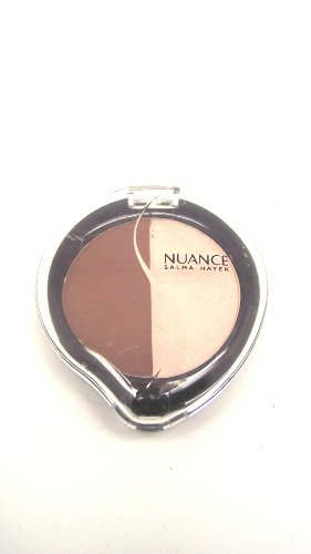Nuance By Salma Hayek Mineral Eyeshadow Duo Dusty Rose/Sheer Champagne 010
