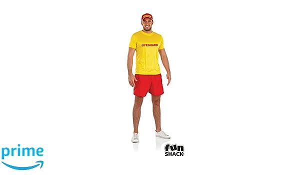 Fun Shack Costume Disfraz, Mens Lifeguard, Medium Mens: Amazon.es: Juguetes y juegos