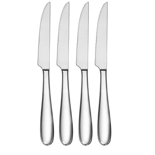 CraftKitchen Open Stock Stainless Steel Flatware Sets (Classic, Steak Knives Set of 4)