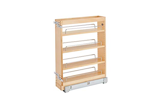 (Rev-A-Shelf 5 in Base Cabinet Organizer, Natural)