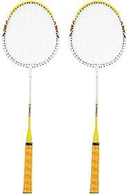 Badminton Racket 1 Pair Badminton Racket Set Lightweight Training Racquets with Bag