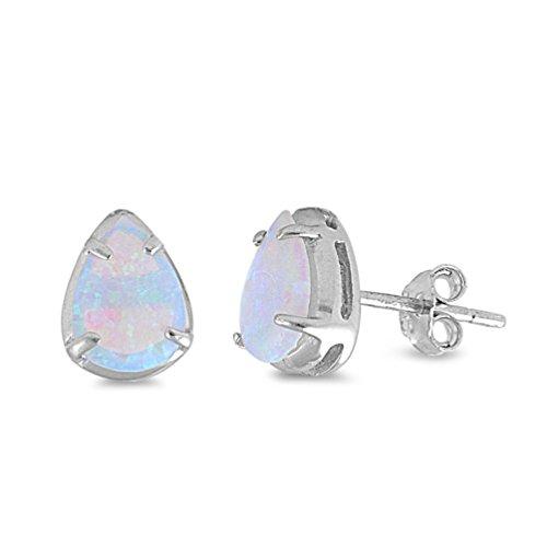 opal earring