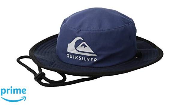 8ec9c6ebe041d5 Amazon.com: Quiksilver Little Real Gel BOY HAT, Bijou Blue 1SZ: Clothing