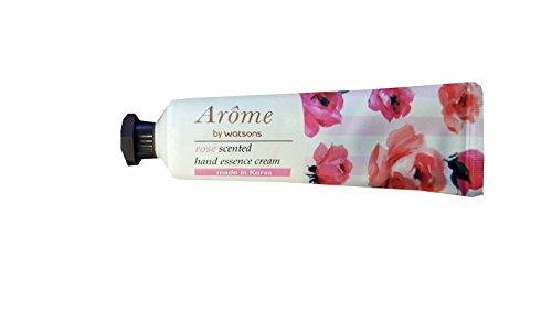 4 packs of Arome by Watsons Rose Scented Hand Essence Cream recalls your romantic moments by the perfumed notes. (30 ml/ pack)..