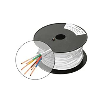 500/' 18//6 Wire CL2 300 Volt PVC conductors and jacket Thermostat Cable