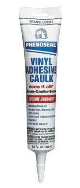 Dap 01101 Translucent Phenoseal Vinyl Adhesive Caulk 5.5-Ounce