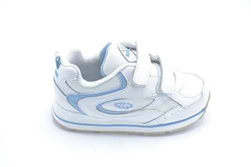 Kelme Oxide Jr. V - Zapatilla deportiva con cierre de velcro para niño. Talla 28