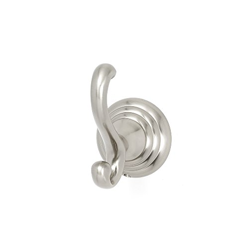 - Alno A9099-SN Embassy Traditional Robe Hooks, Satin Nickel