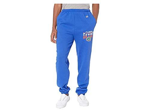 Champion College Men's Florida Gators Eco¿ Powerblend¿ Banded Pants Royal Medium ()