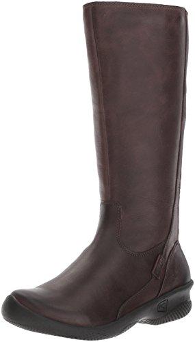 KEEN Women's Baby Bern II Tall-w Rain Boot, Mocha, 6.5 M US Brown Baby Calf Leather Shoes