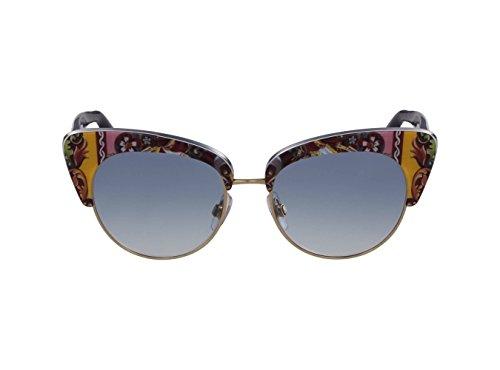Dolce & Gabbana Women's 0dg4277 Cateye Sunglasses, Top Havana/Handcart, 52 - Luxury Italian Eyewear